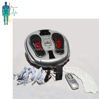 Biofeedback acupuncture infrared foot massager