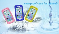 8 Meters Waterproof Mudproof Water Resistent Shockproof Touch Screen Case for Apple iPhone 6 4.7