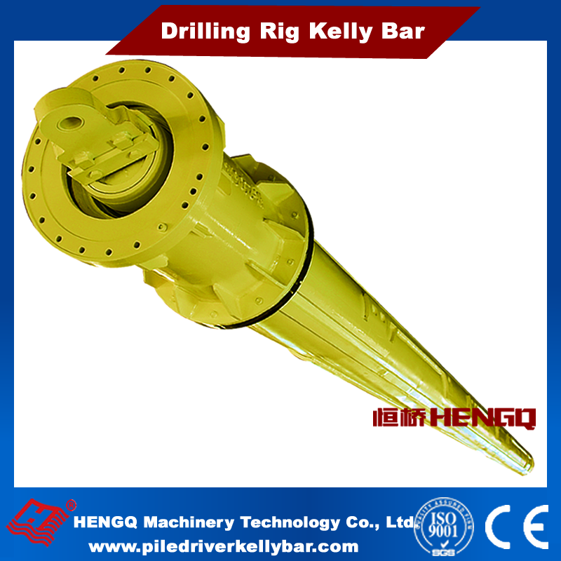 HENGQ supply O.D.355 Telescoping kelly bar friction and interlocking type steel bar civil geotechnical kelly bar