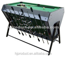 Factory promotion 4' Modern style 3 in 1 Multi games table. Soccer table, Air hockey table, Billiard table.