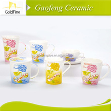 white ceramic mug for sublimation