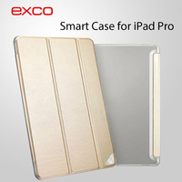 EXCO Customized Protective Back PU Leather Tablet Cover case For iPad Pro