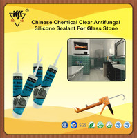 Clear Color Antifungal Silicone Sealant For Glass To Stone
