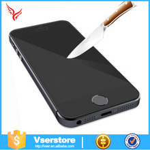 Anti glare full cover 0.33mm phone screen protector privacy best phone protector for iphone5/5s tempered glass screen protector