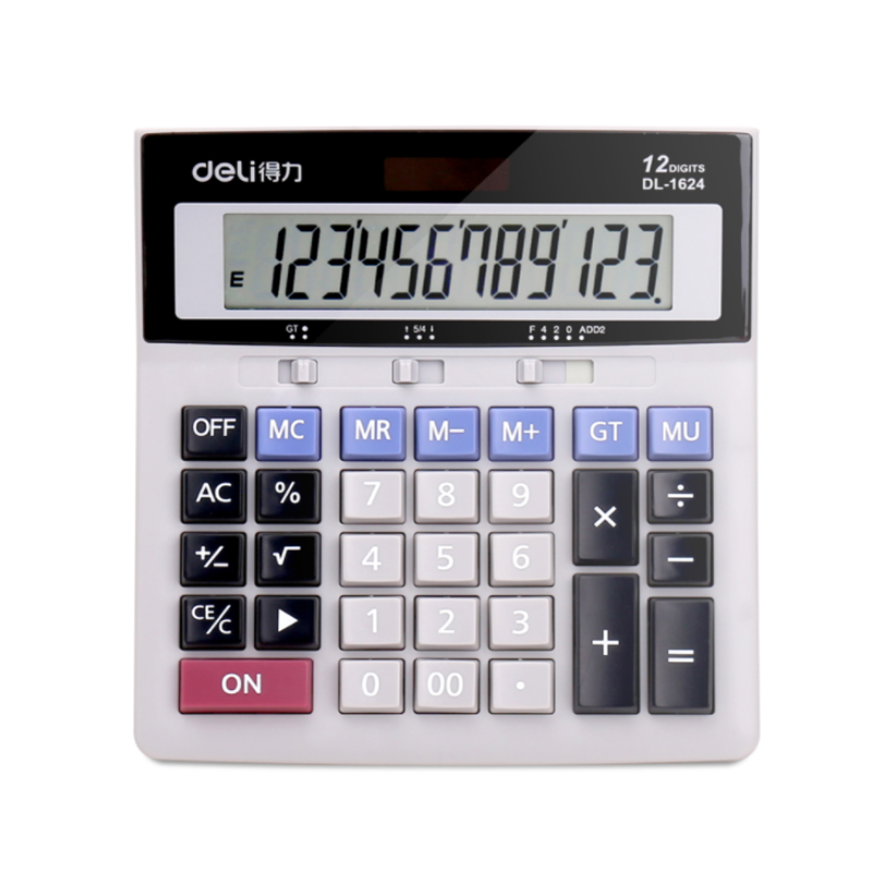 big display 12 digit Business citizen calculator