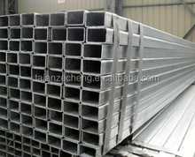 pre galvanized square pipe/rectangle steel pipe and tubes