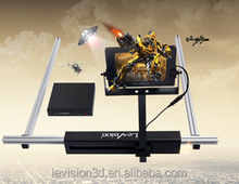 3D Cinema System Polarization modulator 3D,4D,5D,6D,7D Movie Theater System Equipment