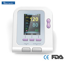 CE and FDA approved arm SPO2 08A Digital Blood Pressure Monitor for home and hospital