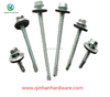 stainless steel roofing screw with washer rubber drilling screw