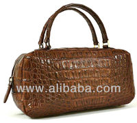 Genuine Crocodile Leather Women Designer Tote Bag Satchel Handbag