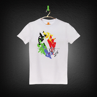 Promotional white printed 100% cotton guangzhou t shirt for sale