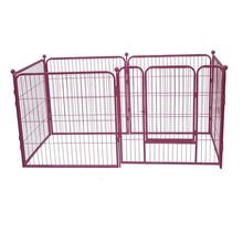 Heavy Duty Exercise Pen Pet Dogs Folding Metal Playpen MHD007