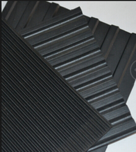 BROAD RIBBED RUBBER NON SLIP MATTING ROLLS WIDE Corrugated Mat