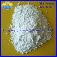 abrasives material hot sales fine fused white corundum sand in competitive price