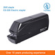 Electric paper stapler, Automatic stapler, Battery operated stapler for office or school