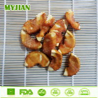 Duck and Apple Crunch Duck Jerky Wrapped Apple Chip Dog Treats Dry Pet and Dog Food Factory Dog Crunch Fruit Series
