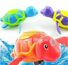 Cute Turtle Swim Animal Wound-up Chain Clockwork Baby Kid Bathroom Bathing Toy