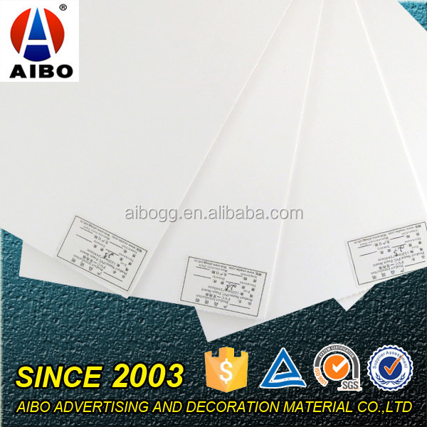 China Manufacturer Hard PVC Foam Board Plastic Sheet