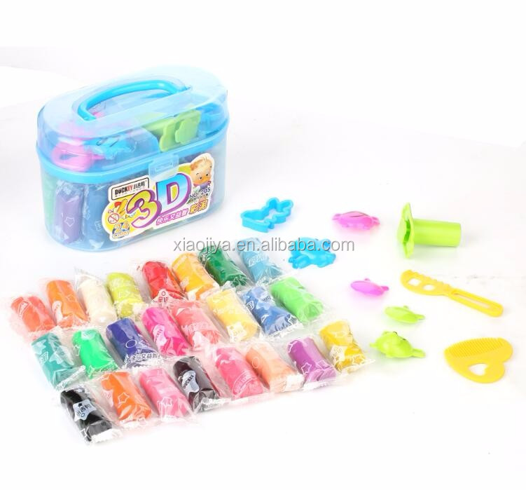 Non-toxic safe Various colors stationery modeling clay