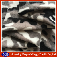 100% polyester military urban camouflage print polar fleece fabric