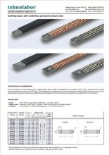 Insulated Braided Shunt-Solderless Pressed Contact Areas