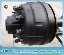 American type FUWA 127mm Round trailer axle of cart wheels and axles