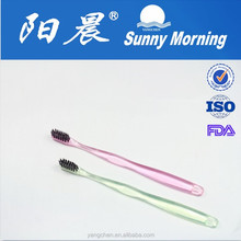 OEM small head transparent toothbrush