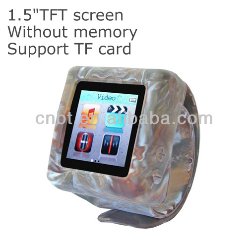 8GB Student Watch MP4 Player with Ebook