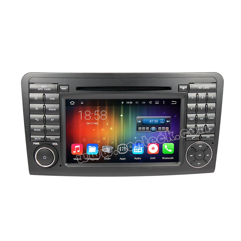Zonteck ZK-5711B Autoradio Android 5.1 Mirror link for 2005-2012 Mercedes ML Class W164 GL Class X164