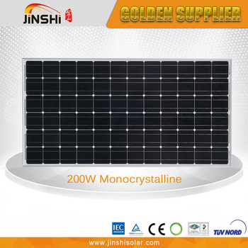 200W Transparent Solar Panel Monocrystalline Solar Cell