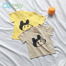 Q2-baby Promotional Custom New Design Plain Lovely Baby T Shirts