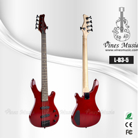 5 strings Electric Bass acoustic guitar bass hot sales factory price bass (L-B3-5)