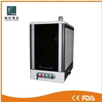 10w 30w laser etching machine used laser marking systems on metal