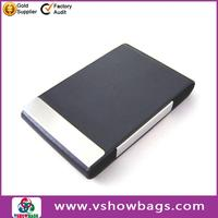 Facpotry direct promotion wholesale PU leather men oyster card holder