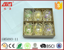 Wholesale blown colored glass egg crafts for Easter gift