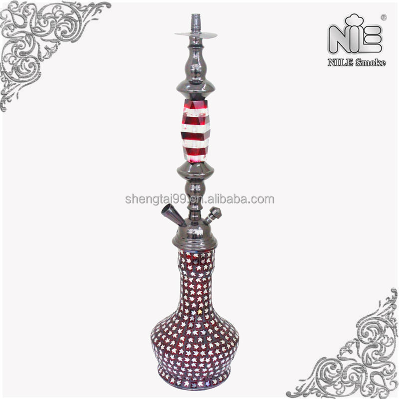 LARGE CRYSTAL SHISHA/ HOOKAH / WATER PIPE/ NARGILA