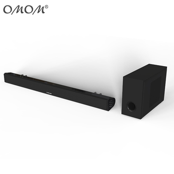 OHM-SB200B bluetooth sound bar with external subwoofer box