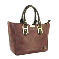 High quality new design leather hangbags,purple color purses handbag,designer bags for ladies