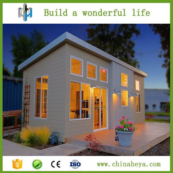 Modular house 53m2 mobile prefab homes safe portable building for sale