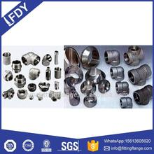 carbon stainless steel galvanized steel pipe fitting dimensions