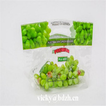 Best selling perforated plastic fruit grape protection packaging bag