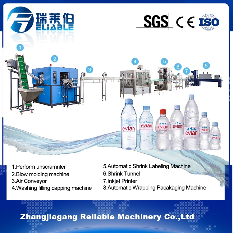 Durable in Use Energy Water Drink Production Line Filling Example