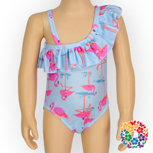 Popular Young Girl Swimsuit Leotards Clothes Child Pretty One Piece Swimsuit Models Soft Kids Swimwear Wholesale Price