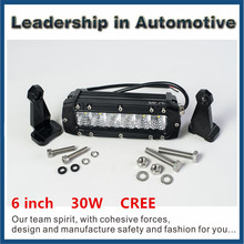 Single Double One Rows 24W 72W 120W 180W 240W 288W Offroad Led Bar Light 4X4 cree auto car accessory