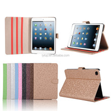 Hot Sale Bling Pattern Leather Stand Case For iPad Mini 4