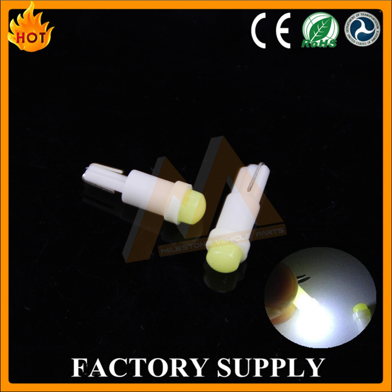 2016 factory Car LED lights led auto bulbs w3w led T5 cob