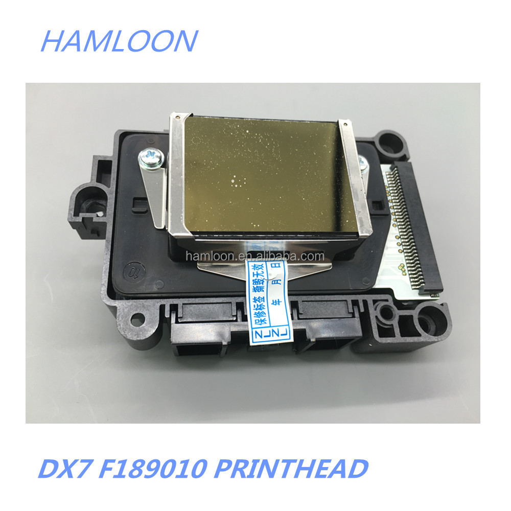 dx7 ecosolvent printhead f189010 used for epson B310