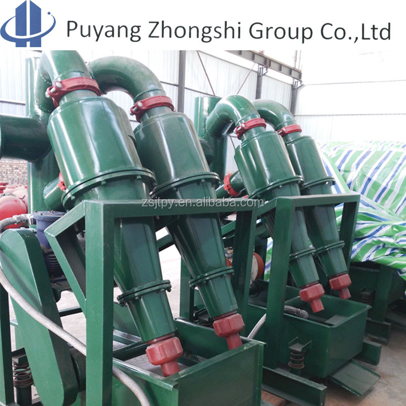 Oilfield drilling Mud cleaner including the function of mud desander and mud desilter