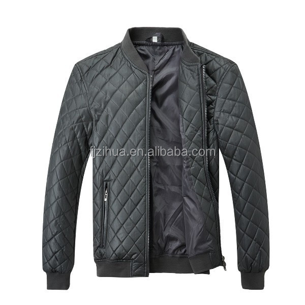 Men's quilted jacket Made in china simple design