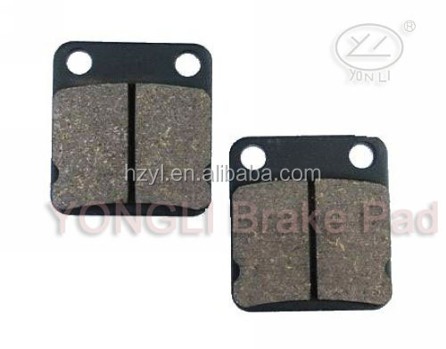 Front sintered brake pads for YAMAHA YFM 250 BT/BV Bruin 05-06&YFM 250 BW/BX/BY Big Bear 05-10